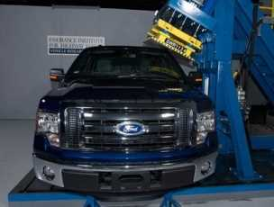 F-150 Ford Gana Top Safety Pick Award del IIHS