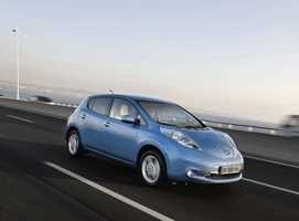 Nissan Leaf gana en seguridad
