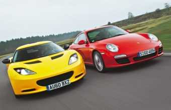 Porsche 911 vs Lotus Evora S