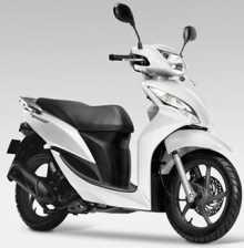 Vision 110 el nuevo scooter de Honda
