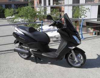 Detalles de la moto Peugeot CityStar 125 Motos