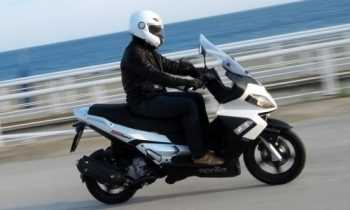 Moto Aprilia SR Max 300ie Motos