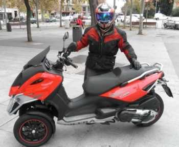 Moto Gilera Fuoco 500ie Motos