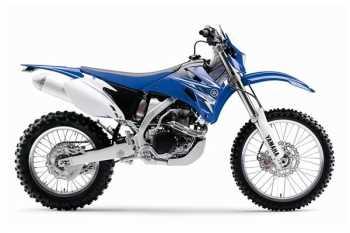 Moto Yamaha WR450F Motos