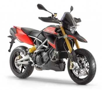 La moto mejorada Aprilia Dorsoduro 1200 Motos