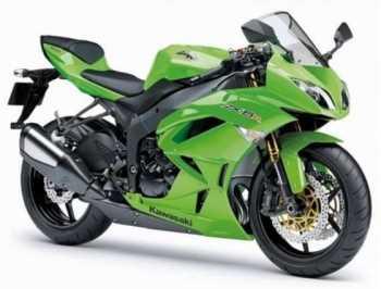 Moto Kawasaki ZX-6R 636 Motos
