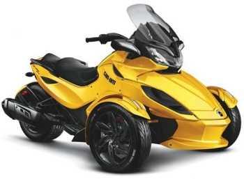 Moto Can-Am Spyder ST Motos
