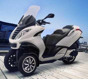Motos Peugeot presenta el Metropolis Motos