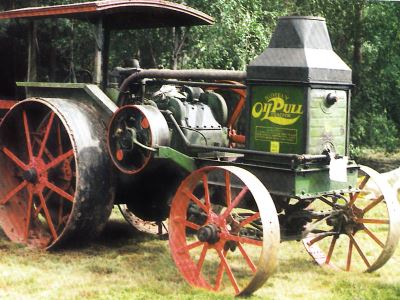 Tractor Advance-Rumely OH Pull G 20-40 Tractores