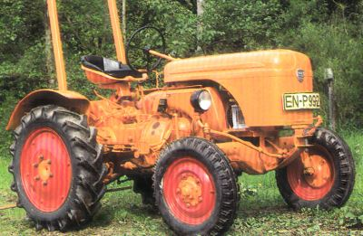 Tractor Allgaier AP 17 Tractores