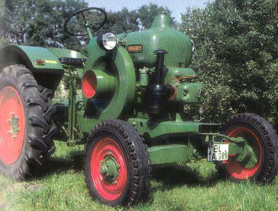Tractor Allgaier R 22 Tractores