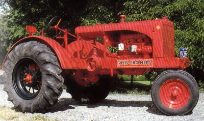 Tractor Allis Chalmers WC  Tractores