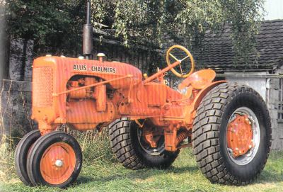 Tractor Allis Chalmers WD Tractores