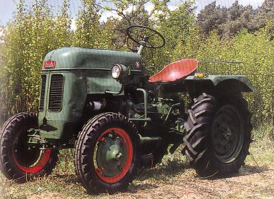 Tractor Bautz AS 120 Tractores