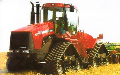 Tractor Case IH STX 375 Quadtrac Tractores