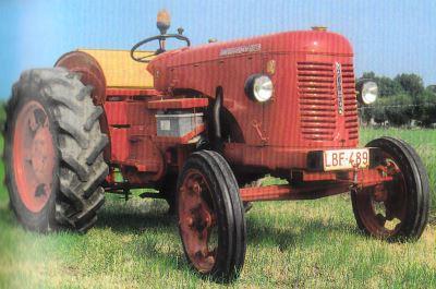 Tractor David Brown Cropmaster 25 D Tractores