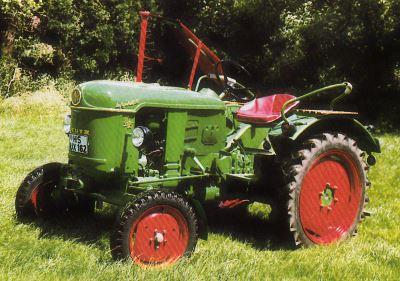 Tractor Deutz D 15 Tractores