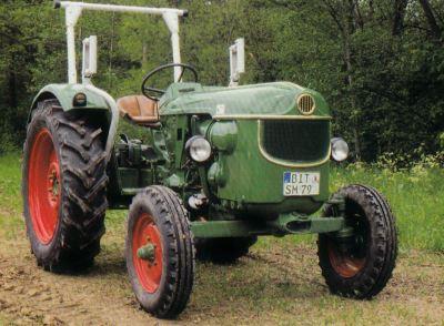 Tractor Deutz D 40 L Tractores