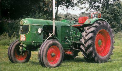 Tractor Deutz D 5505 Tractores