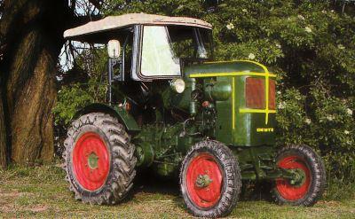 Tractor Deutz F 1 L 514/50 Tractores