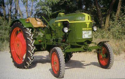 Tractor Deutz F1 L 612/4 Tractores