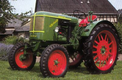 Tractor Deutz F2 L 514/50 Tractores