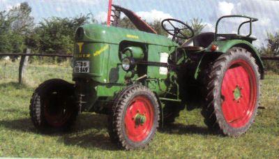 Tractor Deutz F2 L 612/4 Tractores