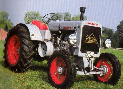 Tractor Deutz F2 M 417 Tractores