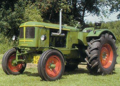 Tractor Deutz F4 L 514/4 Tractores