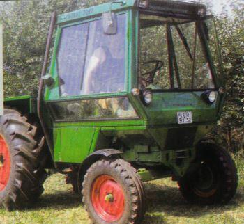 Tractor Deutz Intrac 2002 Tractores