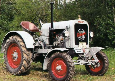 Tractor Eicher ED 22/I Tractores