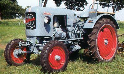 Tractor Eicher ED 22 Tractores