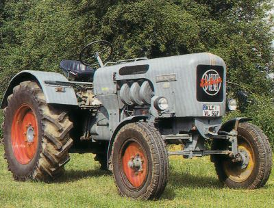 Tractor Eicher ED 50/I Tractores