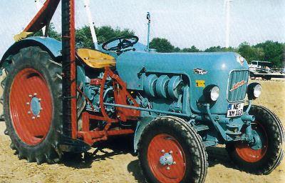 Tractor Eicher EM 300 Konigstiger Tractores