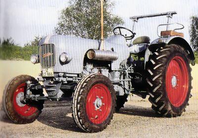 Tractor Eicher EM 500 Mammut I Tractores