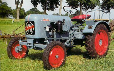 Tractor Eicher LH 12 Tractores