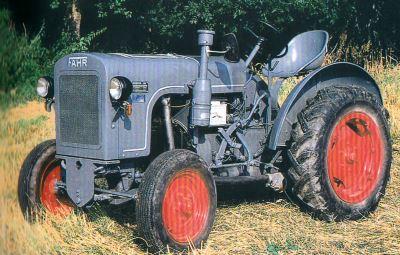 Tractor Fahr 22 Tractores