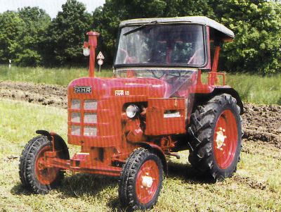 Tractor Fahr D 25 N Tractores