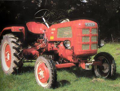 Tractor Fahr D 88 Tractores