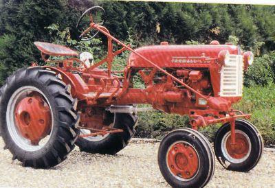 Tractor Farmall Cub Tractores