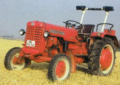 Tractor Farmall D 320 Tractores