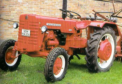 Tractor Farmall D 324 Tractores