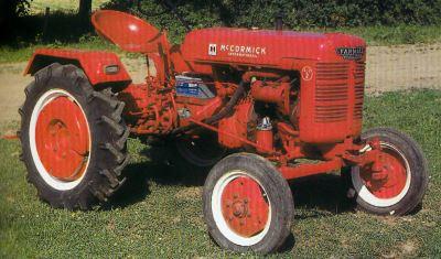 Tractor Farmall-Diesel DLD 2 Tractores