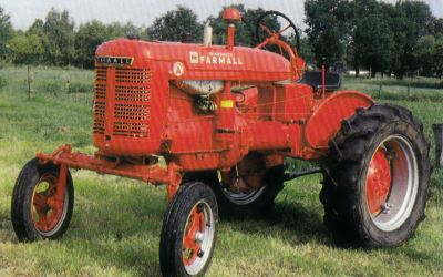 Tractor Farmall Super A Tractores