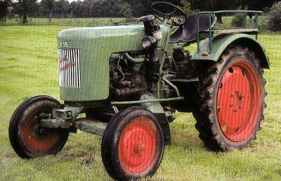 Tractor Fendt Dieselross F 15 H Tractores
