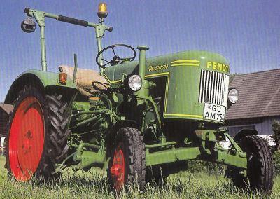 Tractor Fendt Dieselross F 17 W Tractores