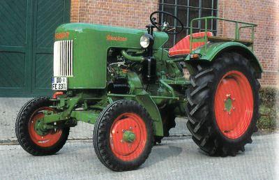 Tractor Fendt Dieselross F 20 Tractores