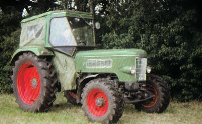 Tractor Fendt Farmer 3 S Tractores