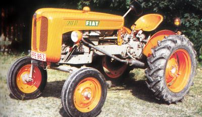 Tractor Fiat 211 R Tractores