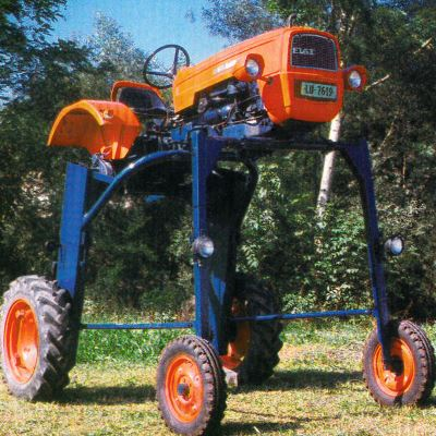 Tractor Fiat 215 Hi-Crop Tractores